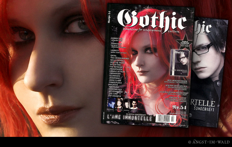 Cover &ndash; Gothic 54 &ndash; L'&acirc;me Immortelle