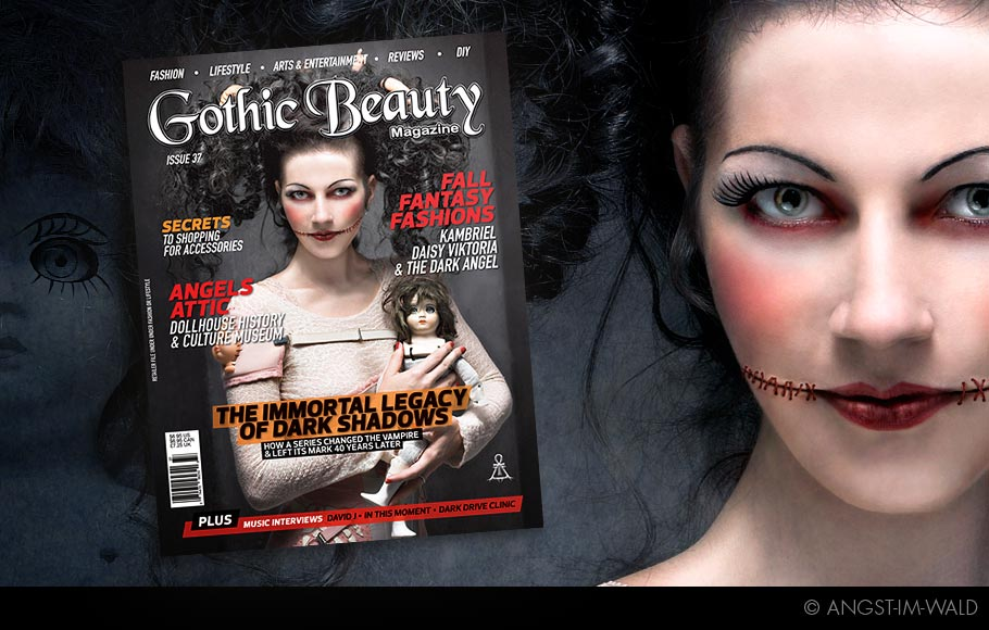 Cover – Gothic Beauty – 2012 – Issue 37