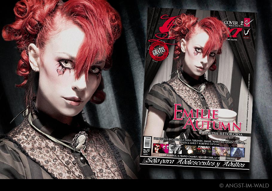images of Cover Gótica – Emilie Autumn
