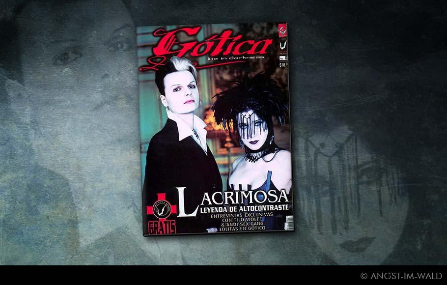 images of Cover Gótica – Lacrimosa – Lichtgestalt Tilo Wolff – Anne Nurmi