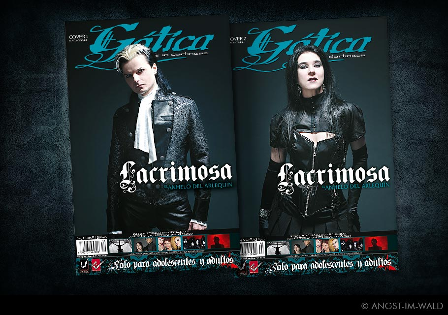 images of Cover Gótica – Lacrimosa – Sehnsucht