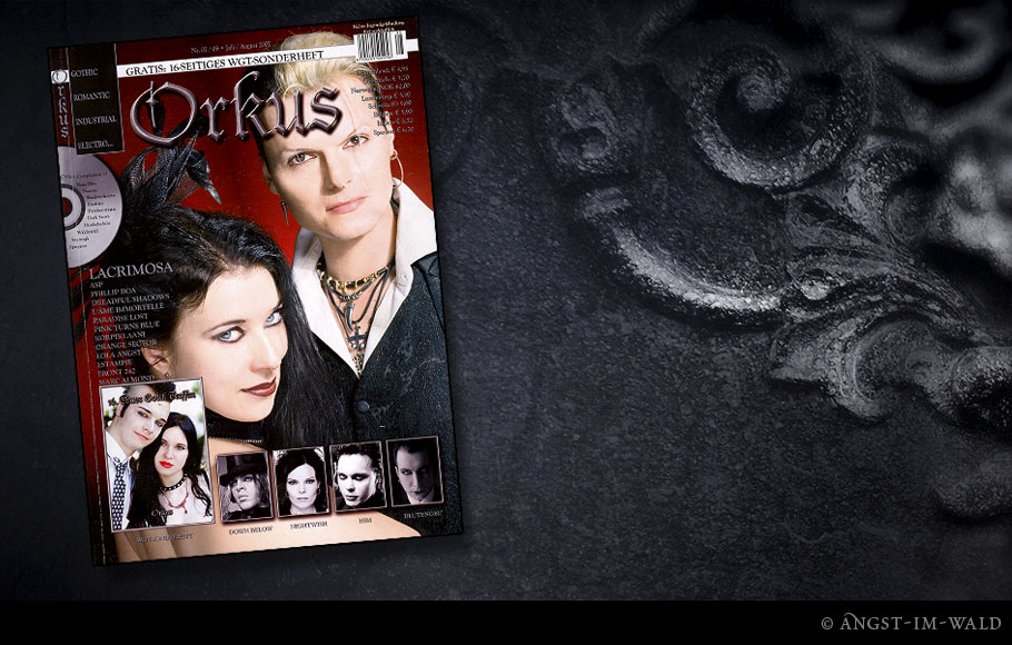 images of Cover Orkus – 2007–07 – Lacrimosa
