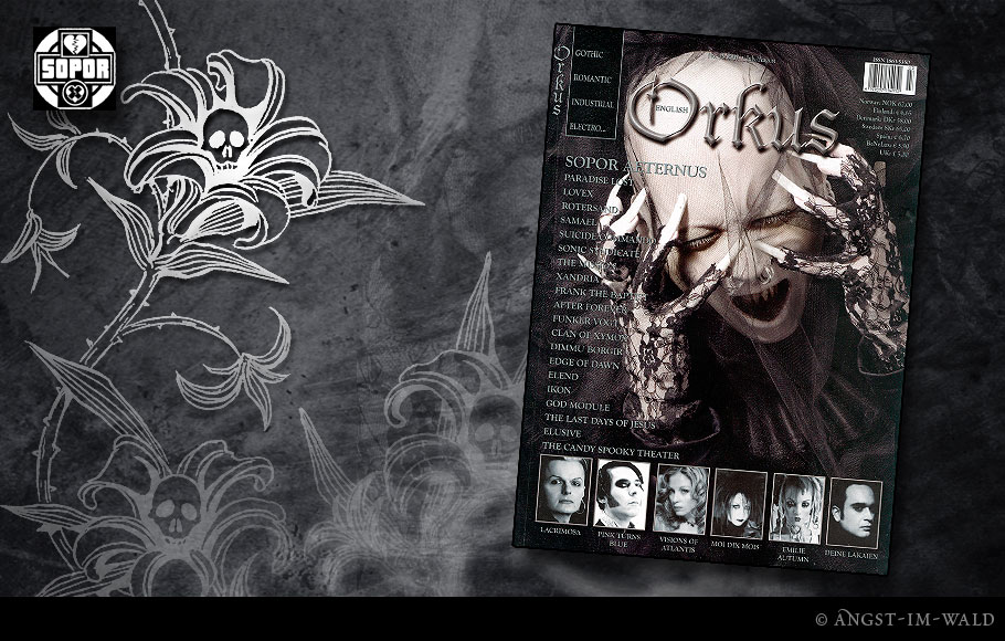 images of Cover Orkus – 2007–07 – Sopor Aeternus