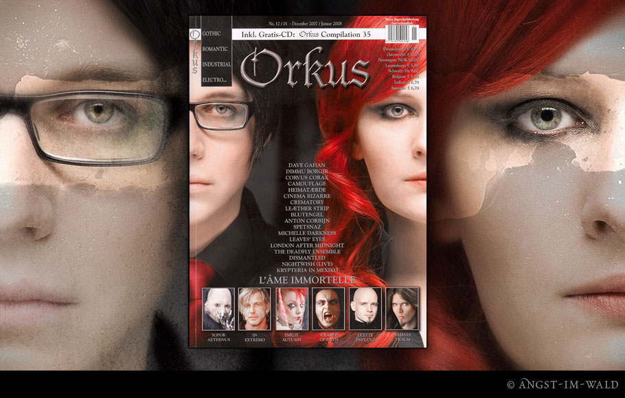 Cover – Orkus – 2007–12 – L'âme Immortelle