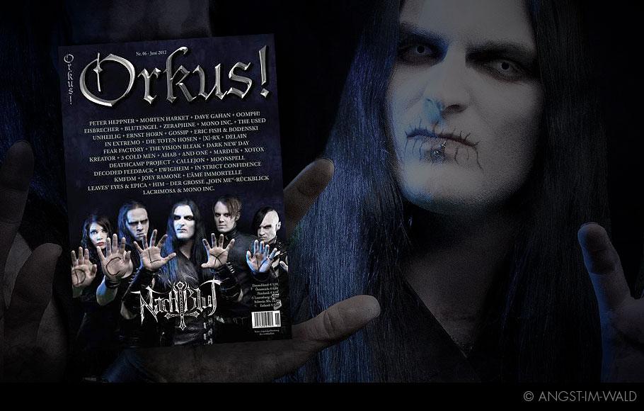Cover – Orkus – 2012 – Nachtblut