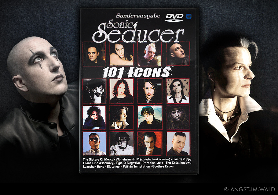 images of Cover Sonic Seducer – 101 Icons – ASP – Tilo Wolff