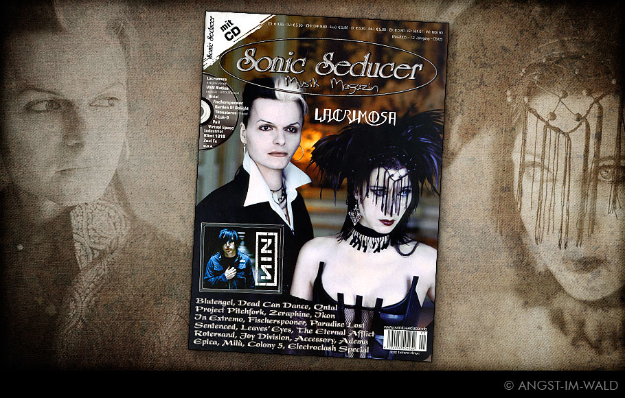 images of Cover Sonic Seducer – 2005–05 – LACRIMOSA