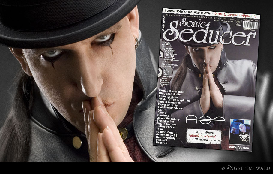 Cover – Sonic Seducer – 2007–04 – ASP
