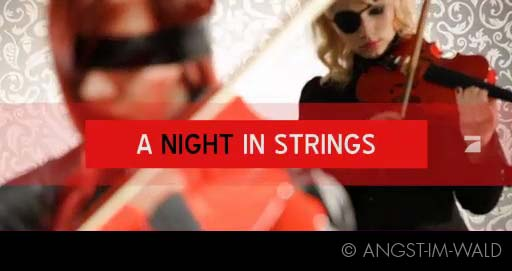 video of Eklipse TV Commercial – a night in strings