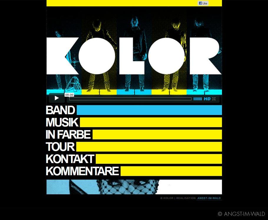 Kolor – Homepage 2011
