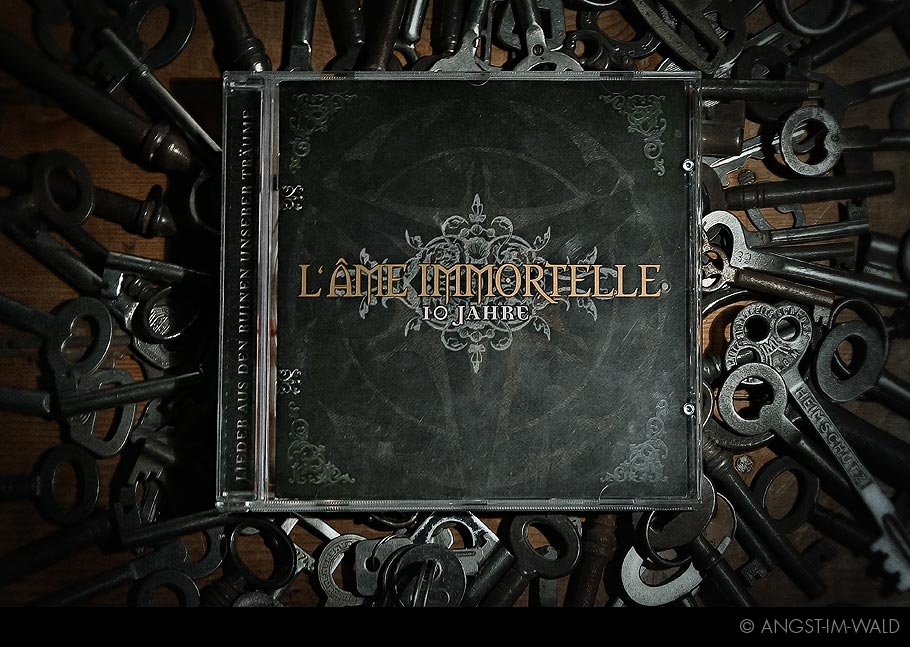 artwork of L'âme Immortelle 10 Jahre Artwork Design