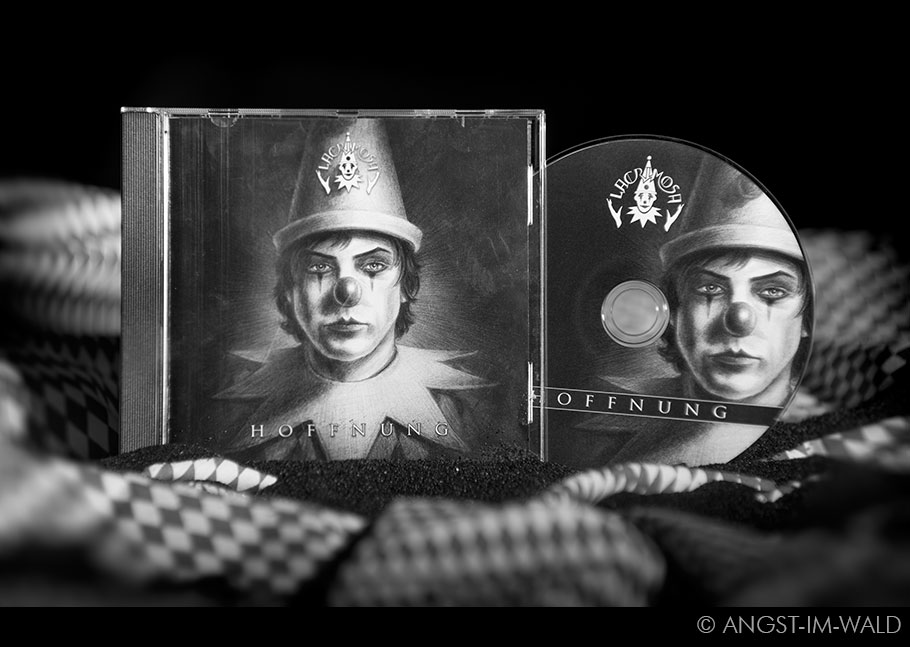 Lacrimosa – Hoffnung – Album CD Artwork – Tilo Wolff Anne Nurmi