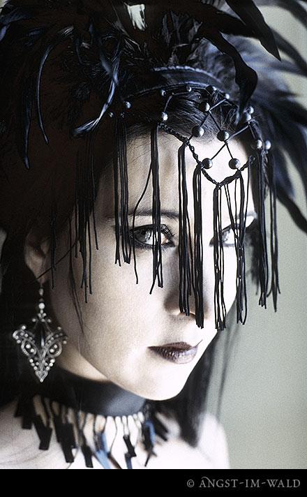 Sesión de fotos de Lacrimosa, disco Lichtgestalt