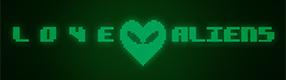 Love Aliens - Logo Design