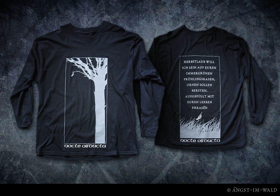 artwork of Nocte Obducta T–Shirt »Herbstlaub«