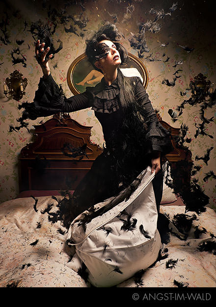 pictures of Queen of Darkness Fashion Calendar 2012