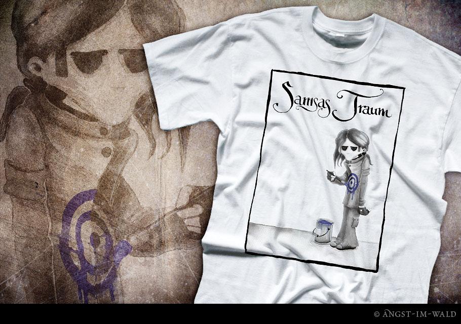 Samsas Traum – T–Shirt Design – shirt design