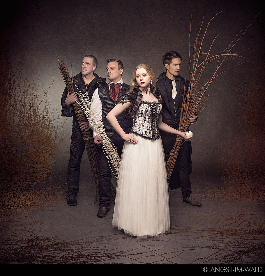 pictures of Snow White Blood Promo Photography 2016
