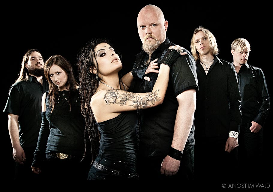 pictures of Tristania Rubicon Promo Photography